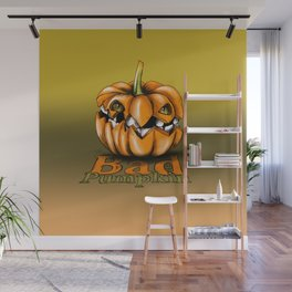 Bad Pumpkin Wall Mural