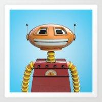 Scott the robot. Art Print