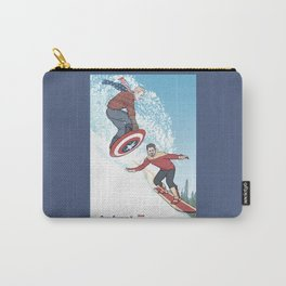 Stark Spangled Sledding (Recipe for a Concussion) Carry-All Pouch