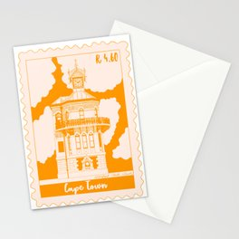 Waterfront Clock Tower in Cape Town Stamp Stationery Cards