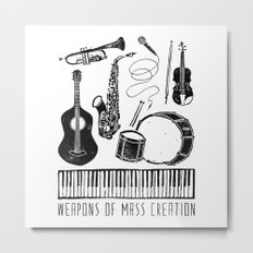 Weapons Of Mass Creation - Music Metal Print