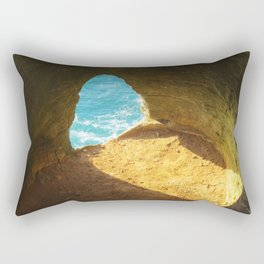 A window to the sea Rectangular Pillow