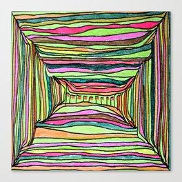 Boxy Bright Canvas Print