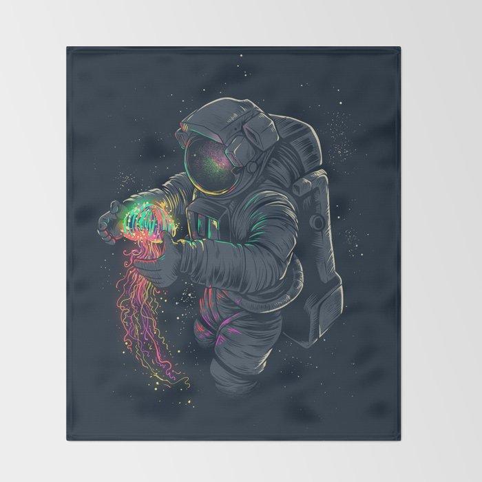 Jellyspace Throw Blanket