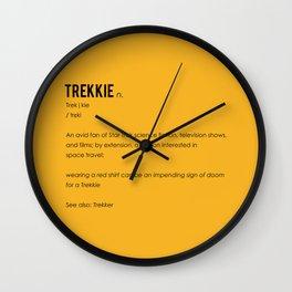 Trekkie Wall Clock