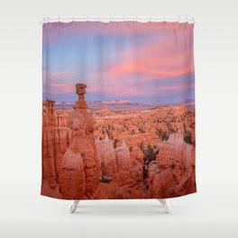 BRYCE CANYON SUNSET UTAH NATIONAL PARK LANDSCAPE PHOTOGRAPHY Shower Curtain