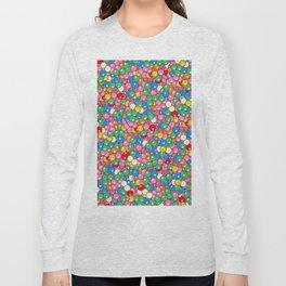 Bubble Gum Balls Juicy Tropical Fruity Long Sleeve T-shirt