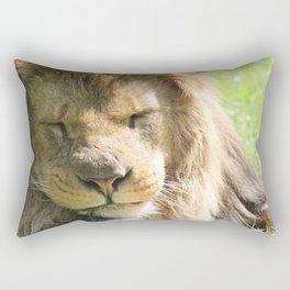 The lion sleeps tonight Rectangular Pillow