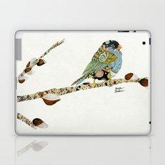 Cafe Swirly Bird 3 Laptop & iPad Skin