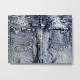 Blue Jeans Never Goes Out Of Style Metal Print