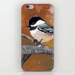 Chickadee iPhone Skin