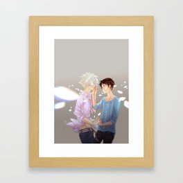 Evangelion: if at the end of everything... Framed Art Print