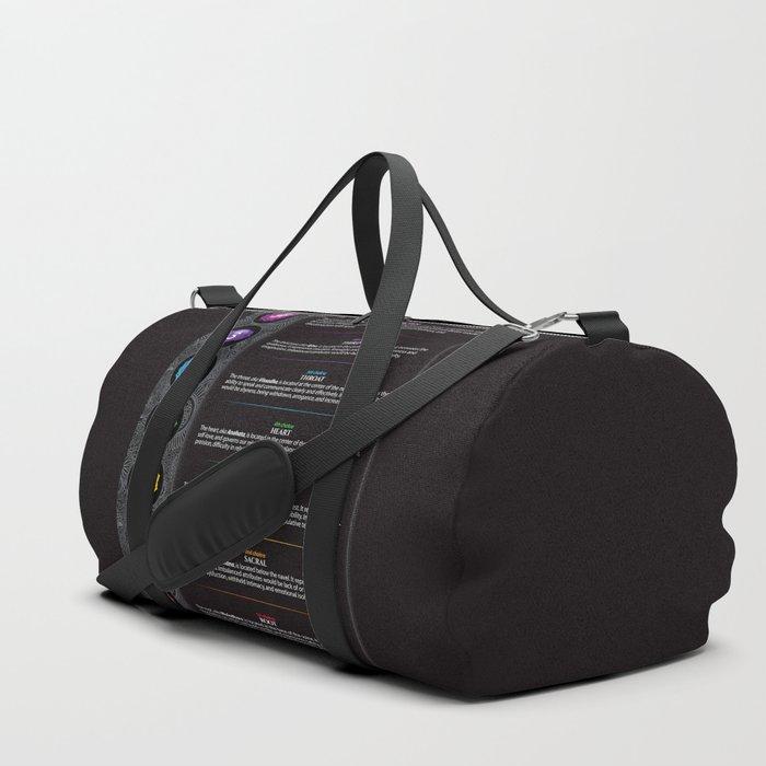 Seven Chakra Poster #40 Duffle Bag