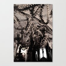 The Bone Church #1 Canvas Print
