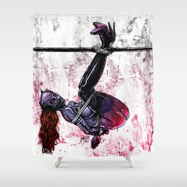 Bondage Catwoman Shower Curtain