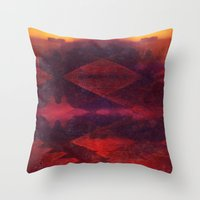 navajo Throw Pillows featuring Navajo by alleira photography