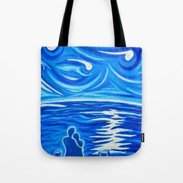 Stary Stary Love Tote Bag