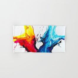 Abstract Art Britto - QB292 Art Print Hand & Bath Towel