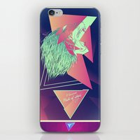 leon iPhone & iPod Skins featuring LEON z7 by Edgar Gomez UniverZ7