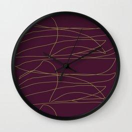 Leticia Ka 11 Wall Clock