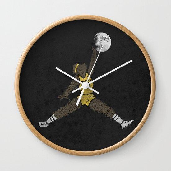 air teen wolf Wall Clock