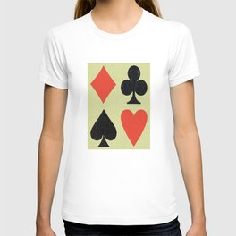 Card Faces T-shirt