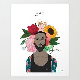 #30DayChallenge: Day 1 Art Print
