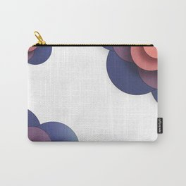 Floral // Border Carry-All Pouch