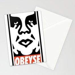 OBEYSE Stationery Cards
