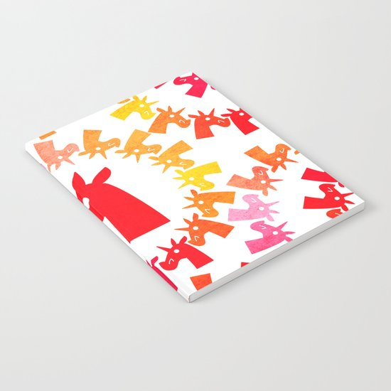 Color Me Red Unicorn Notebook