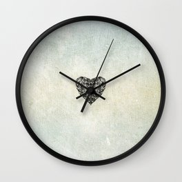 Transparent Heart Wall Clock