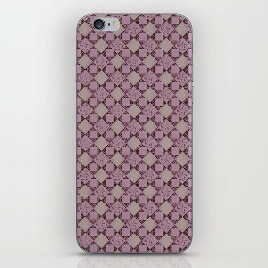 pattern (pale pink#2) iPhone & iPod Skin
