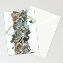 Garbage Pile Stationery Cards