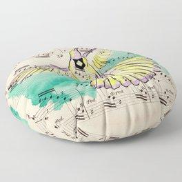 Mandolin Waltz Floor Pillow