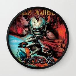 iron maiden album 2021 dede19 Wall Clock
