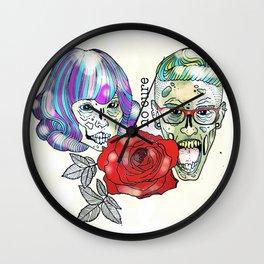 BFF 2 Wall Clock