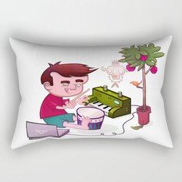 Digital Orchard Rectangular Pillow