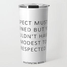 Respect - Beer Travel Mug