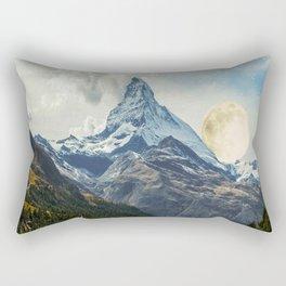 Wander trip sets the Moon Rectangular Pillow
