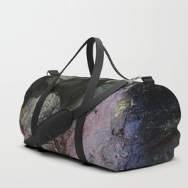 Ocean Weathered Cave Rock Formation Cornwall Duffle Bag