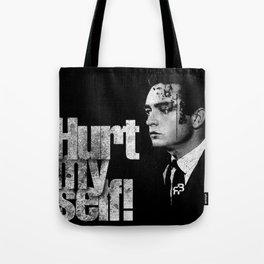 hurt my self! Tote Bag