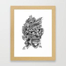 Fright 3 Framed Art Print