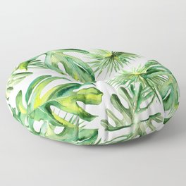 tropical again Floor Pillow