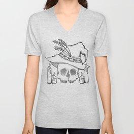 Witch Skull Unisex V-Neck