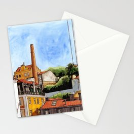 Alfama Buildings Stationery Cards