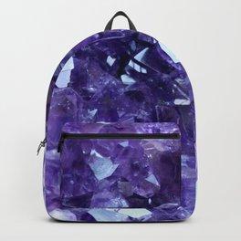 Raw Amethyst - Crystal Cluster Backpack