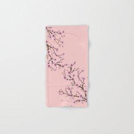 Cherry Blossom Branch Hand & Bath Towel