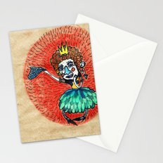 Ugly princess is looking for love Stationery Cards