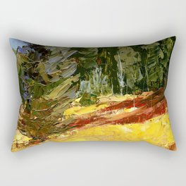 Out of the Meadow Rectangular Pillow