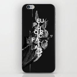 euphoric fatalist iPhone Skin